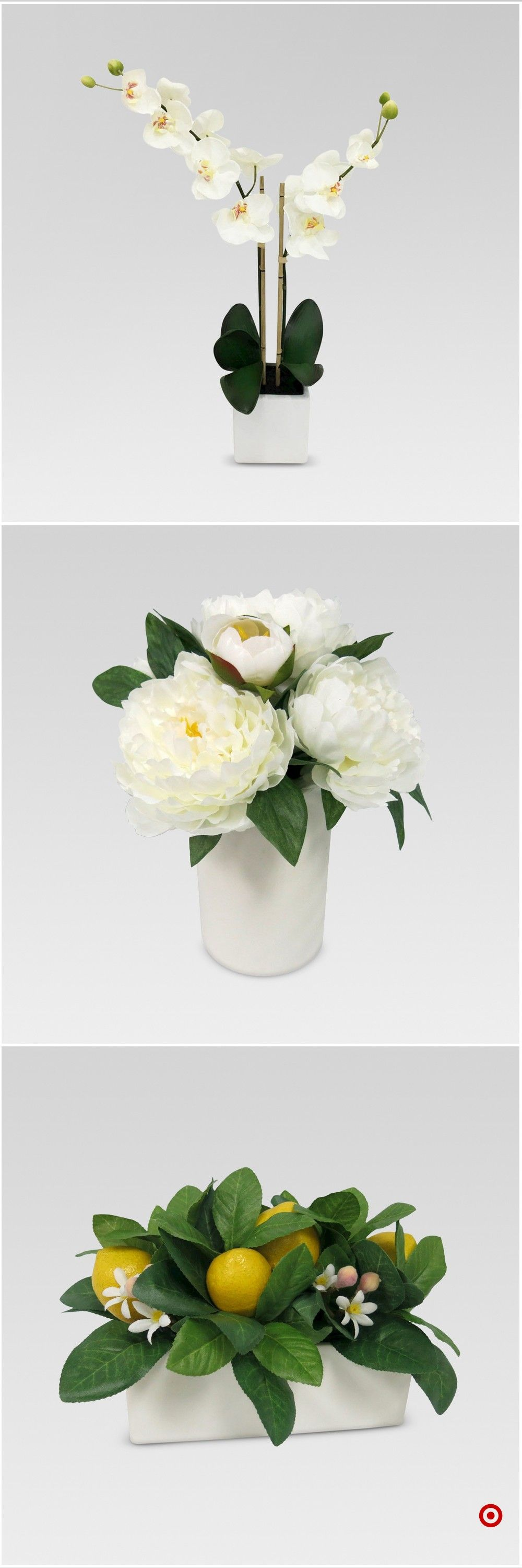 Shop Target For Artificial Arrangement You Will Love At Great Low Prices Free Shipping On Orders Of 35 Or Fre Fancy Flowers Flower Arrangements Floral Photo