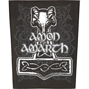 Amon Amarth Thorhammer Capucha con Cremallera Negro