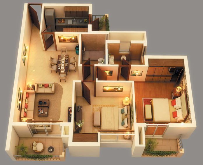 Incredible bhk home plans  amazing architecture magazine also rh pinterest