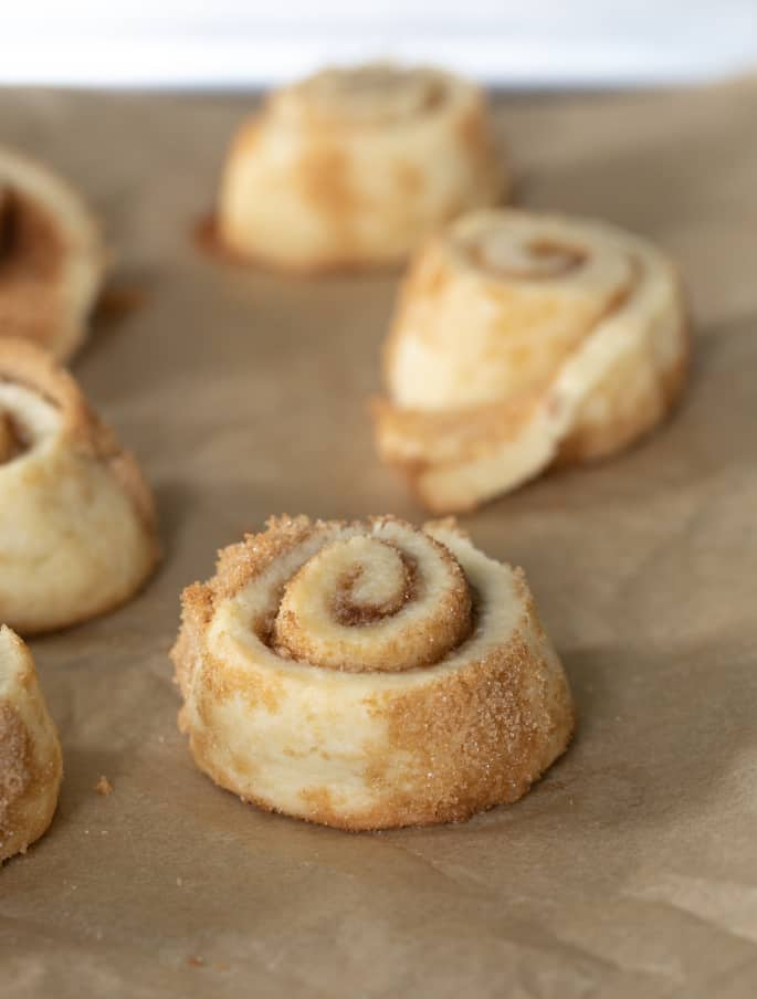 Gluten Free Cinnamon Roll Sugar Cookies | Near-Instant Gratification #cinnamonsugarcookies