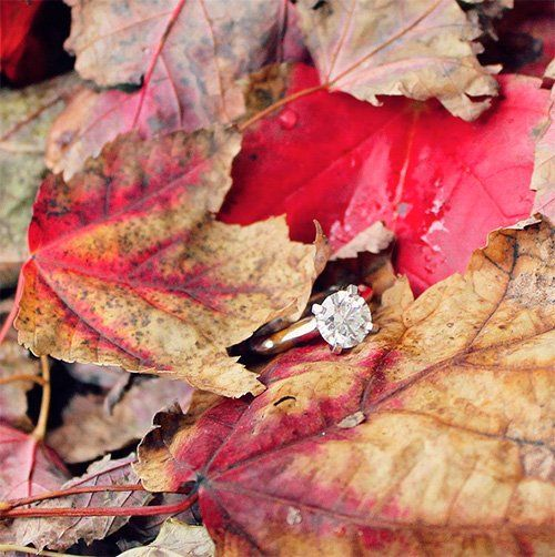 Ideas de fotos con tu anillo de compromiso