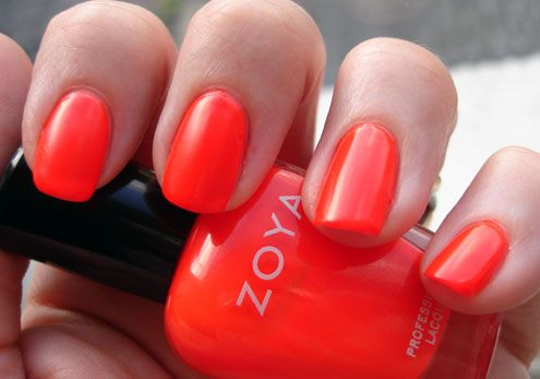 looking for m favorite orangey nail polish | My Style | Pinterest ...