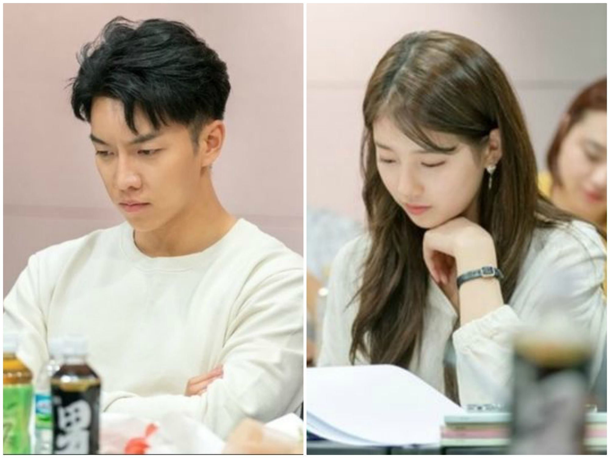 [K-Drama]: Vagabond' - Lee Seung Gi and Suzy released the picture at the script reading and confirmed the time of the broadcast
