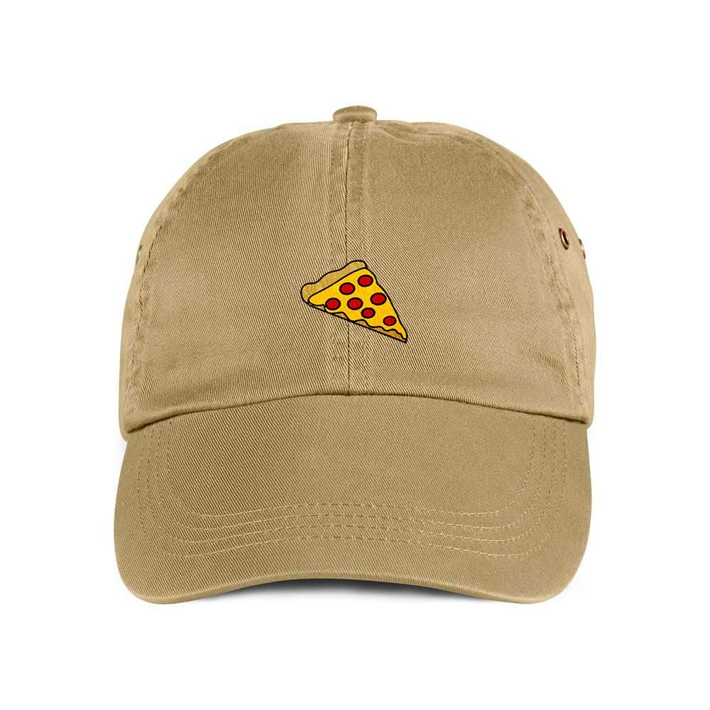 Pizza Hat Pizza Slice Baseball  dad Cap Pepperoni Pizza Baseball Cap Embroidery Dad Hat Pizza Embroidered Hat