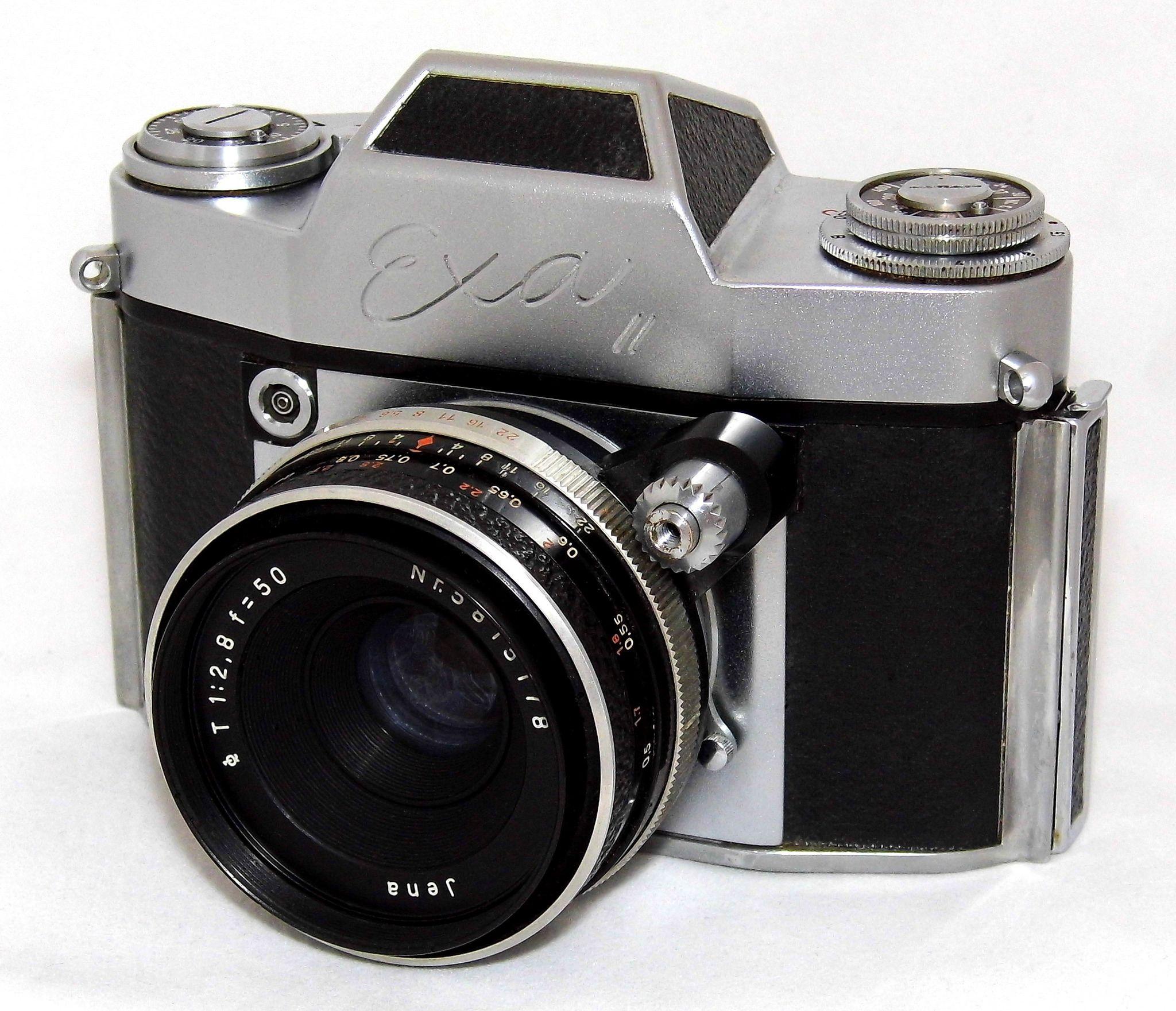 Vintage Ihagee Exa II 35mm SLR Film Camera, Made In Dresden, East ...