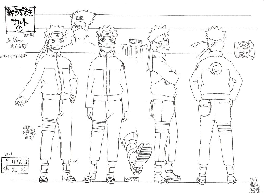 Character Design Reference Sheet : Naruto reference sheet manga tutorials pinterest