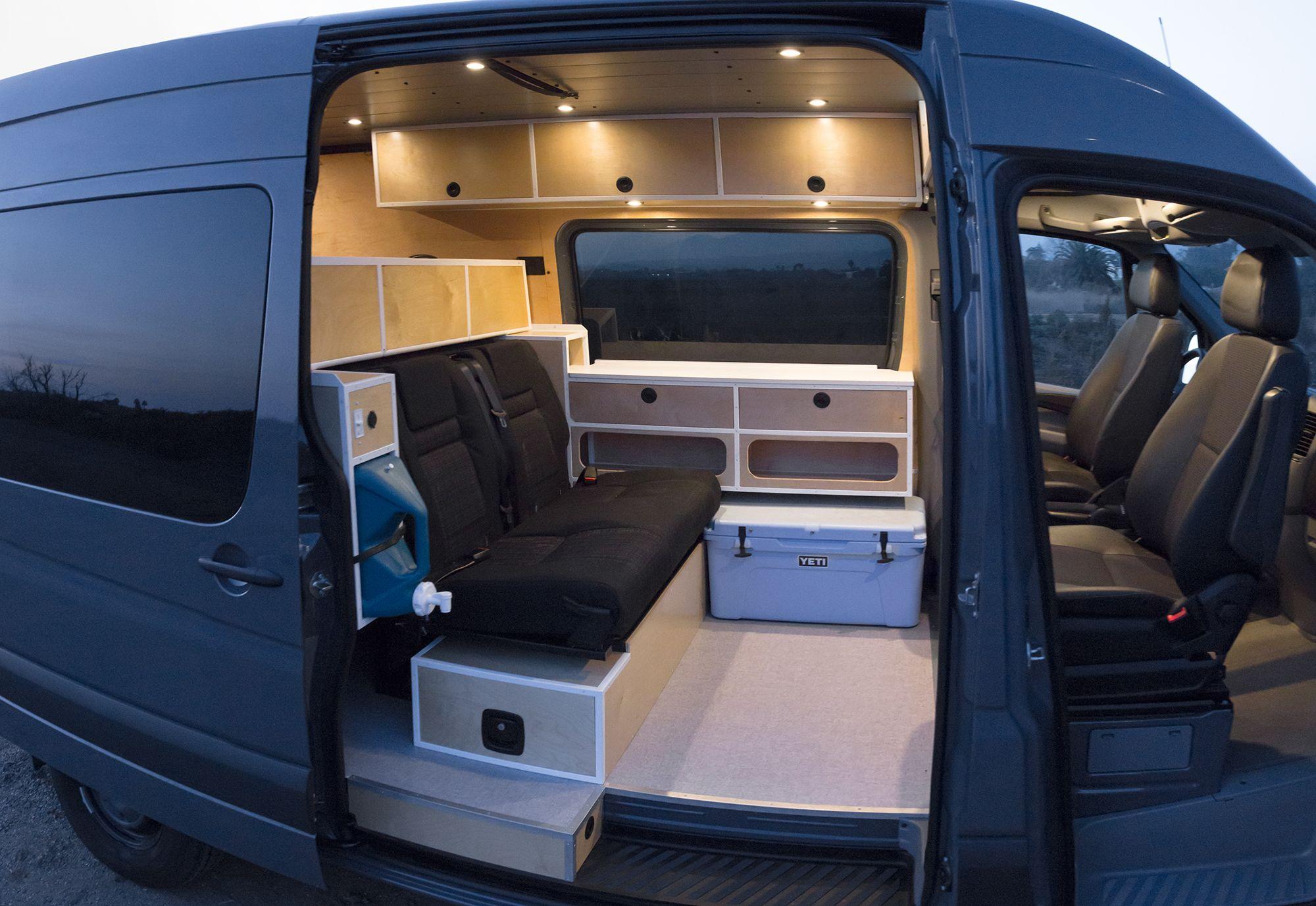 Seitz Sea Er Rig Racks In 2020 Van Interior Campervan Bed Campervan Interior