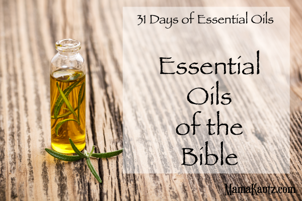Oils of the Bible Cooking with essential oils