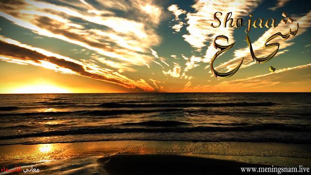 معنى اسم شجاع وصفات حامل هذا الاسم Shojaa Celestial Outdoor Sunset