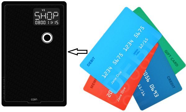 Coin Combines Your Credit And Debit Cards Into One Simple Payment