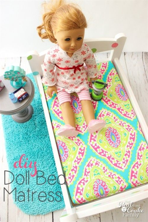 How To Make A Mattress For Any Doll Bed American Girl