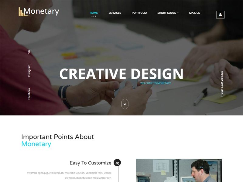 Monetary is a clean and modern free bootstrap business template it monetary is a clean and modern free bootstrap business template it is a well cheaphphosting Image collections