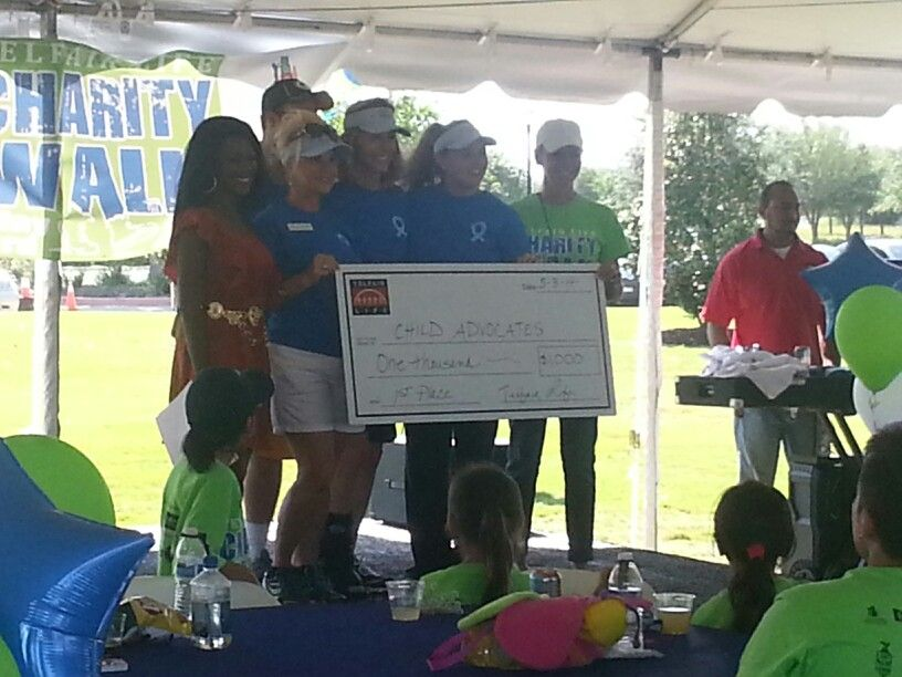 Casa wins telfair charity walk