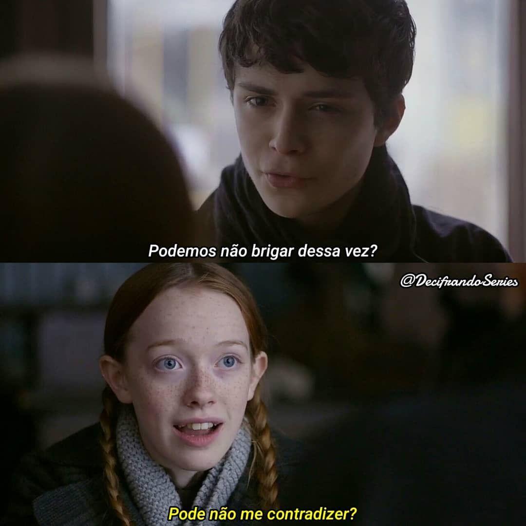 Anne With An E 1x7 Serie Maravilhosa Frases De Filmes