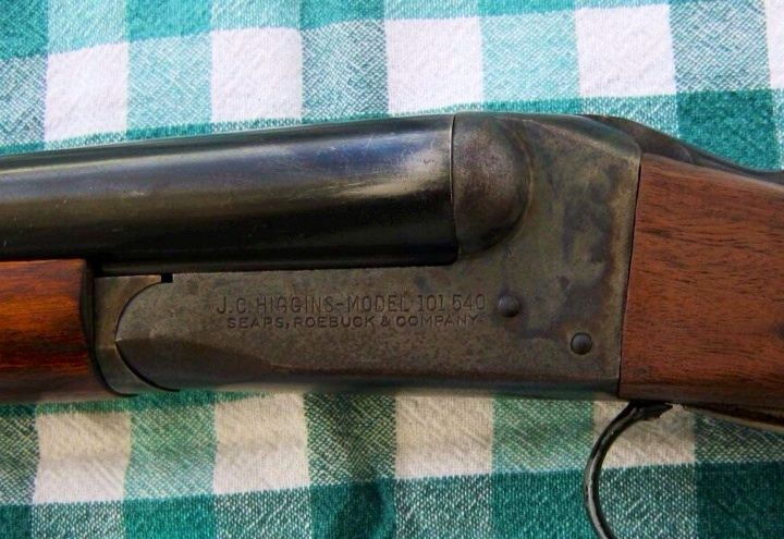 The Shotgun my Grampa used when teaching me to hunt. JC Higgins, made by