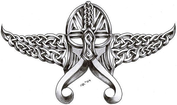 viking tribal tattoos | More Information on Celtic viking ...