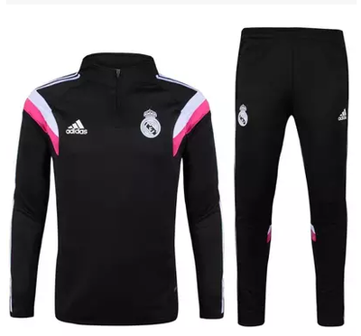 Madrid Cher Foot Pas 2015 2016 Survetement Noir Real Boutique De v5tpqwnxU8