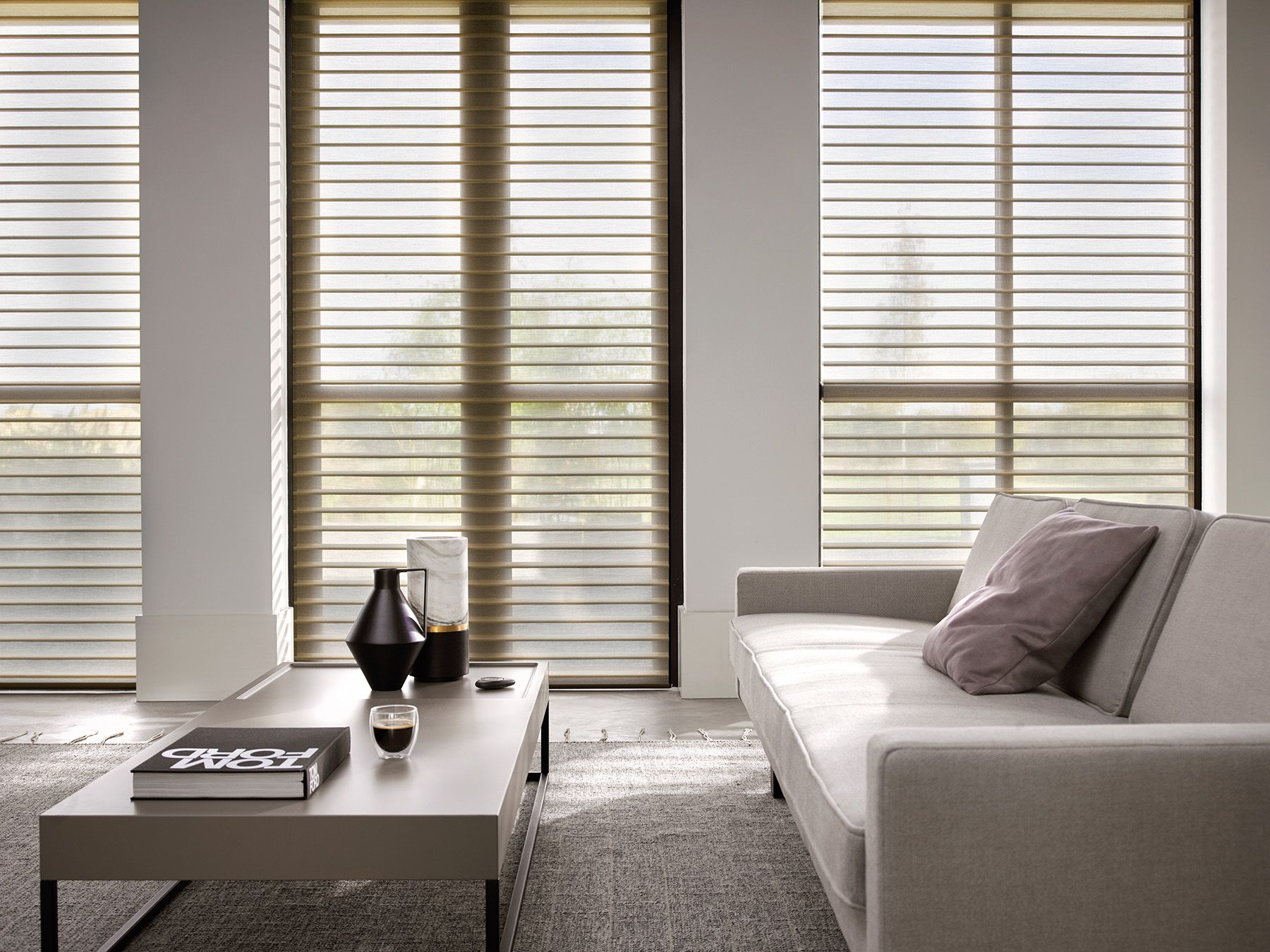 Silhouette Shades Gentle Ambient Light With Exclusive Style