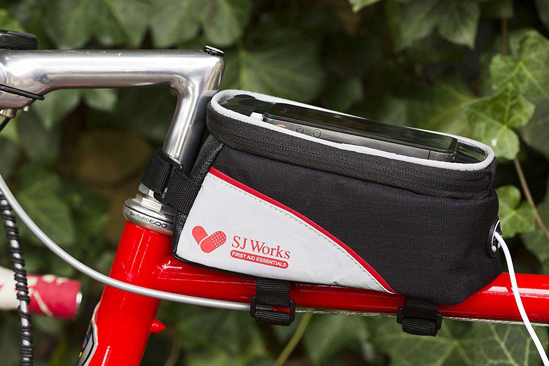 SJ WORKS Smart phone soluzione bicicletta First Aid Kit , il peso leggero add-on per moto , touch panel trasparente per smart phone , cavo di prolunga per il cavo per cuffie: Amazon.it: Sport e tempo libero