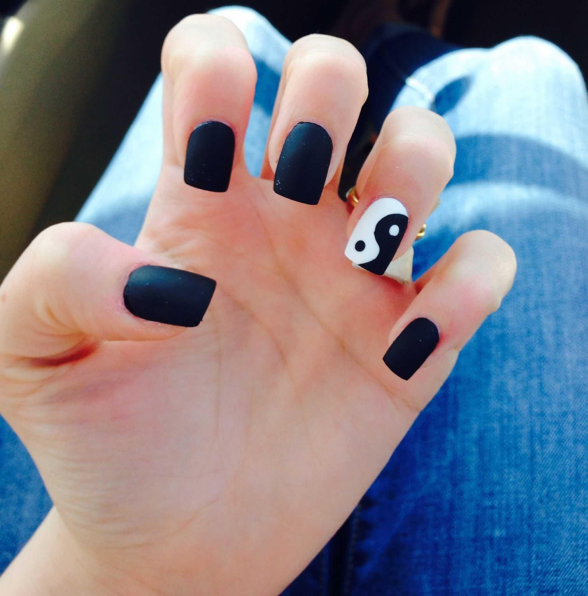 3d Nails Art Nail Care Young Nails Acrylic Nail Art Gel Nails Trendy Nail Art Nails Nail Trends Uv Gel N In 2020 Yin Yang Nails Cute Acrylic Nails Acrylic Nail Designs