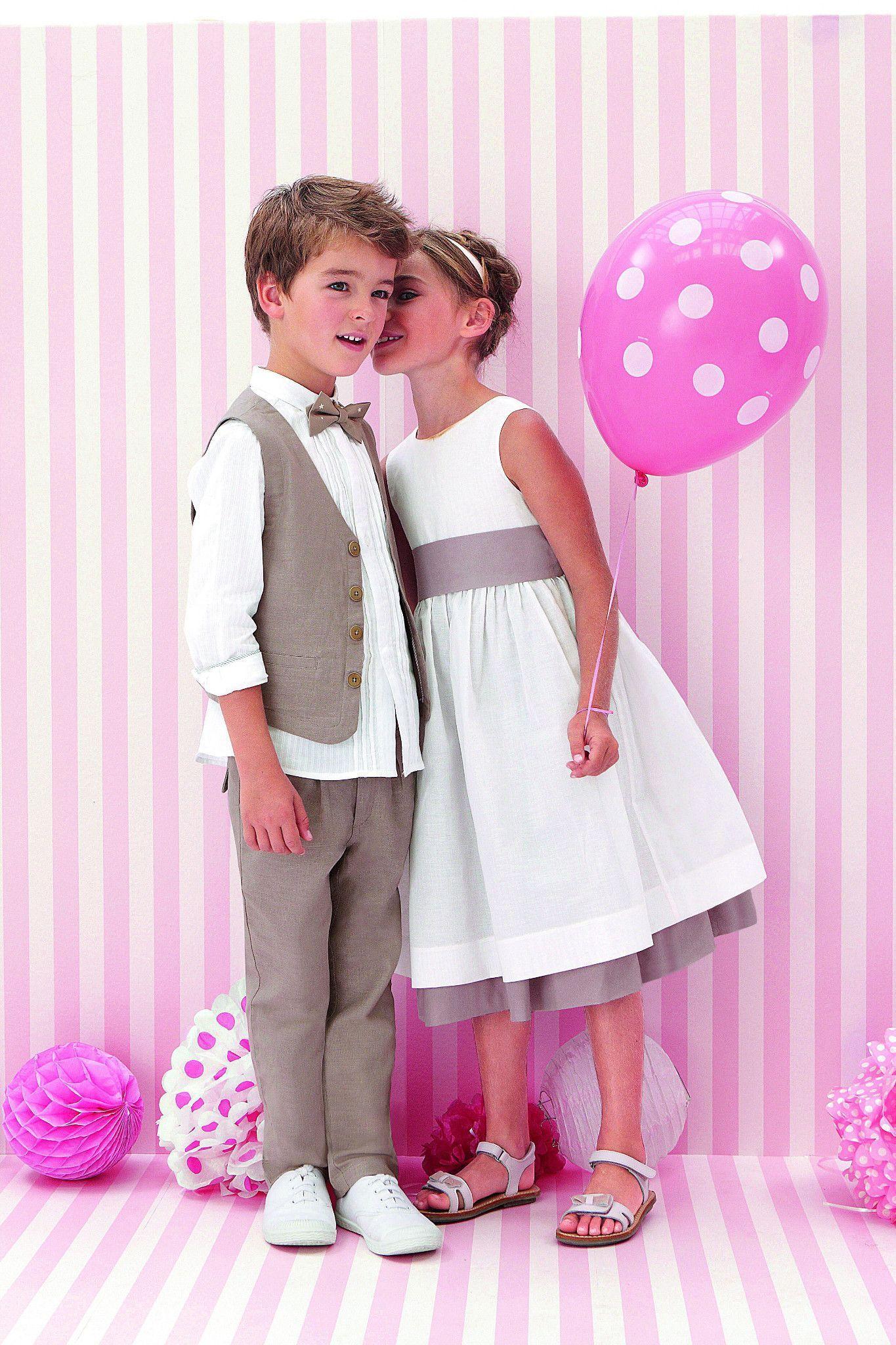 268ca1a6ba2e5 Tenue pour enfants d honneur  nos idées de robe et ensemble pour le ...