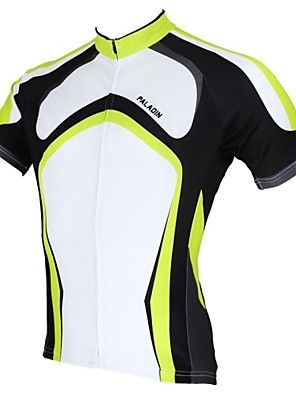 7002b9f29 PALADIN Bike Cycling Jersey   Tops Men s Short Sleeve Breathable    Ultraviolet…