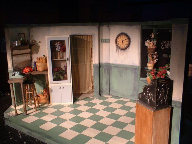 Lance Cardinal Little Shop Of Horrors Set Design Set