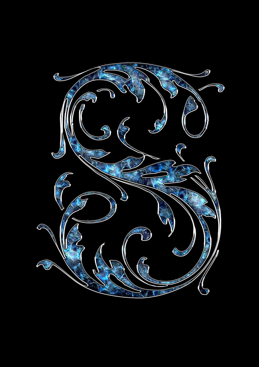 7cef6e54e8e1 Free Image on Pixabay - Letter, Letter S, S, Initials, Font | My ...