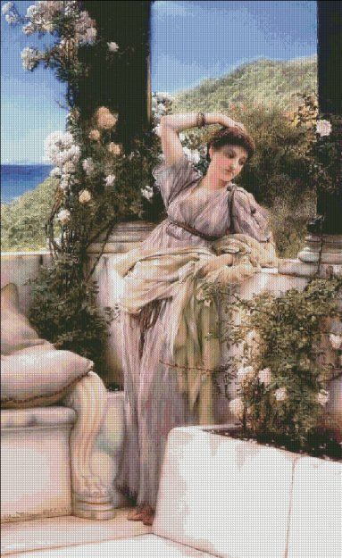 Thou Rose of All Roses [TADEMA134] - $19.00  Heaven And Earth Designs.