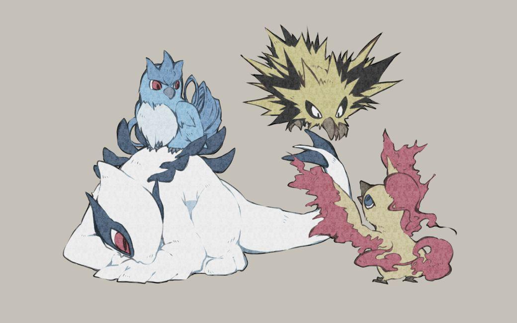 El protector del trio de pajaros | pokemon | Pinterest | El ...