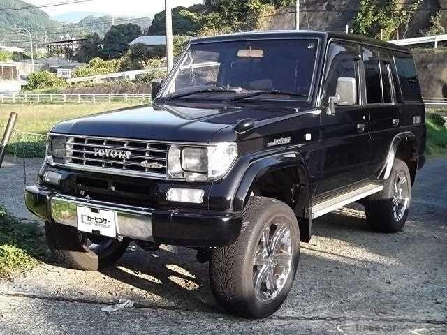 1995 Toyota Land Cruiser Prado KZJ78W EX4WDSR