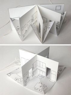 25 Paper House Projects For Kids To Do Handmade Books Pop Up