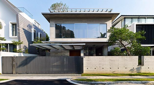 The cricket pitch house by scale architecture in sydney australia is a modern home in the well established neighborhood north bondi gray paint