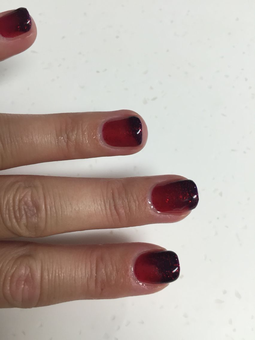 Mood changing gel polish! Love my nails by Sue! Don\'t pay attention ...
