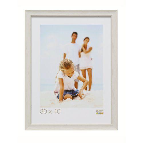 Photo of Wand- und Stehrahmen Bridgeport 17 Stories Farbe: Weiß, Größe: 21,8 cm H x 16,7 cm B x 1,6 cm T