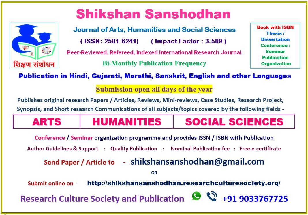 Publish Research Paper Article Research Paper Research Scholar Journal Publication