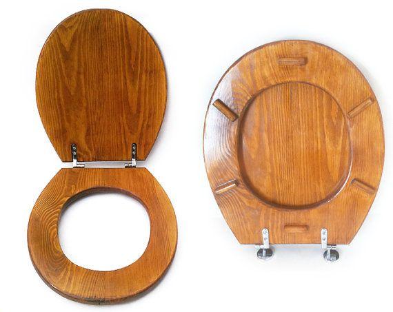 Outstanding Handmade Elongated Toilet Seat Color Oak In 2019 Wooden Customarchery Wood Chair Design Ideas Customarcherynet