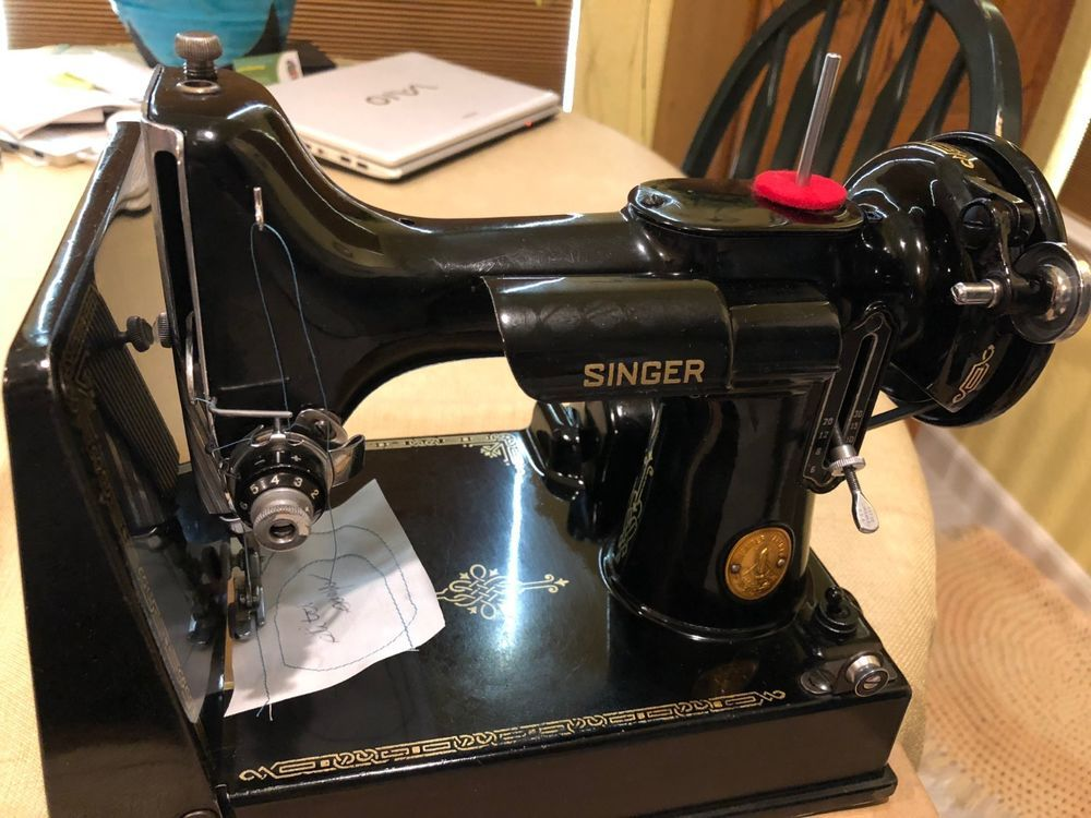 FOR SALE US THE ICONIC SINGERFEATHERWEIGHT 40K SEWING MACHINE Beauteous Sewing Machine Repair Richmond Va