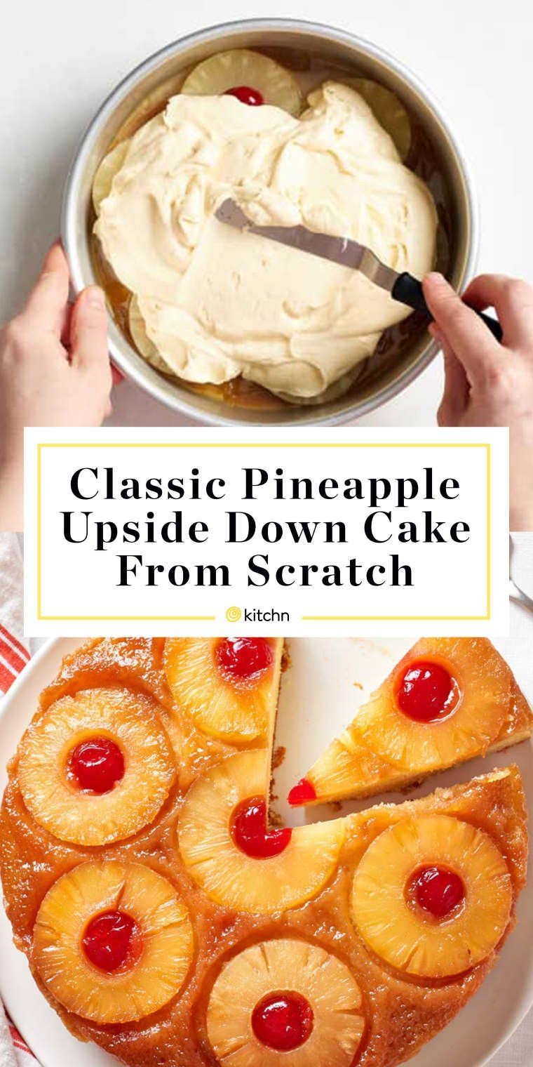 How To Make Easy Pineapple Upside-Down Cake from Scratch -   13 cake Pineapple baking