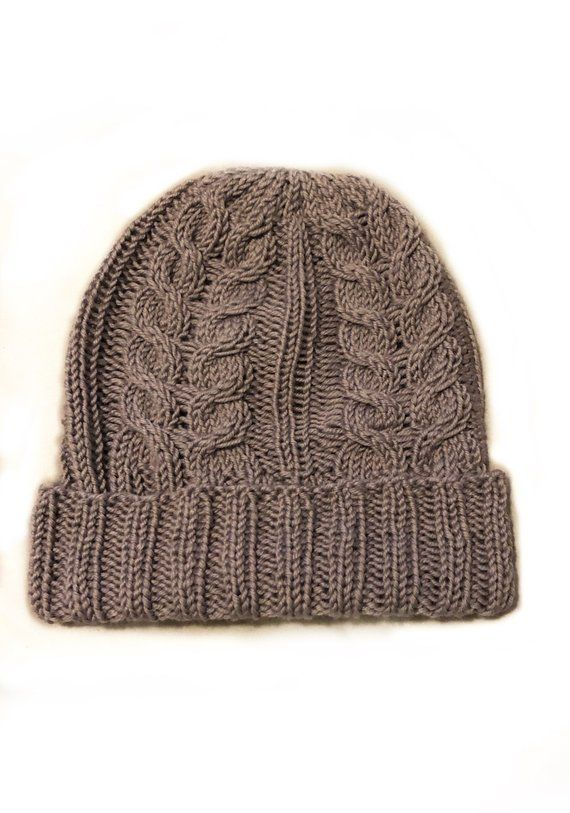 add35eea7b8 Large Cable Knit Beanie in 2019