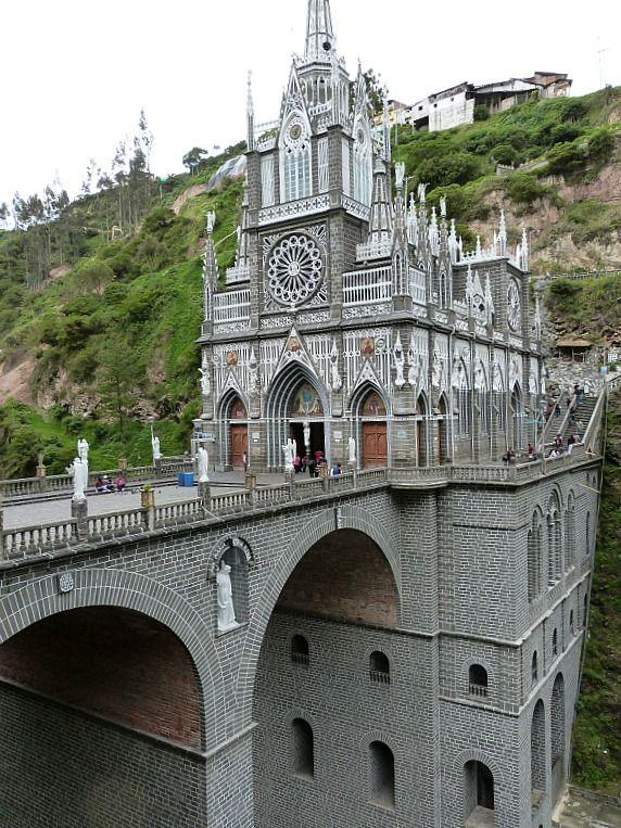 Santuario de Las Lajas, a minor Basilica church | Colombia