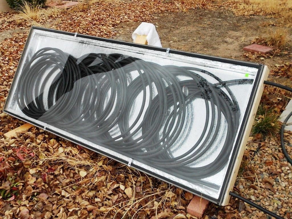 Solar Sun Water Collector Heat Hot Tub Home Homemade
