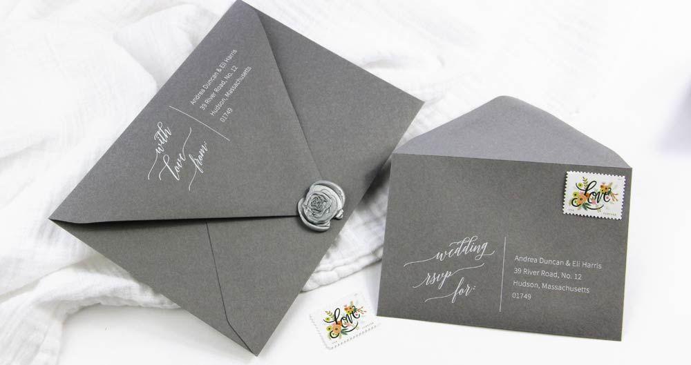 Wedding Envelope Templates