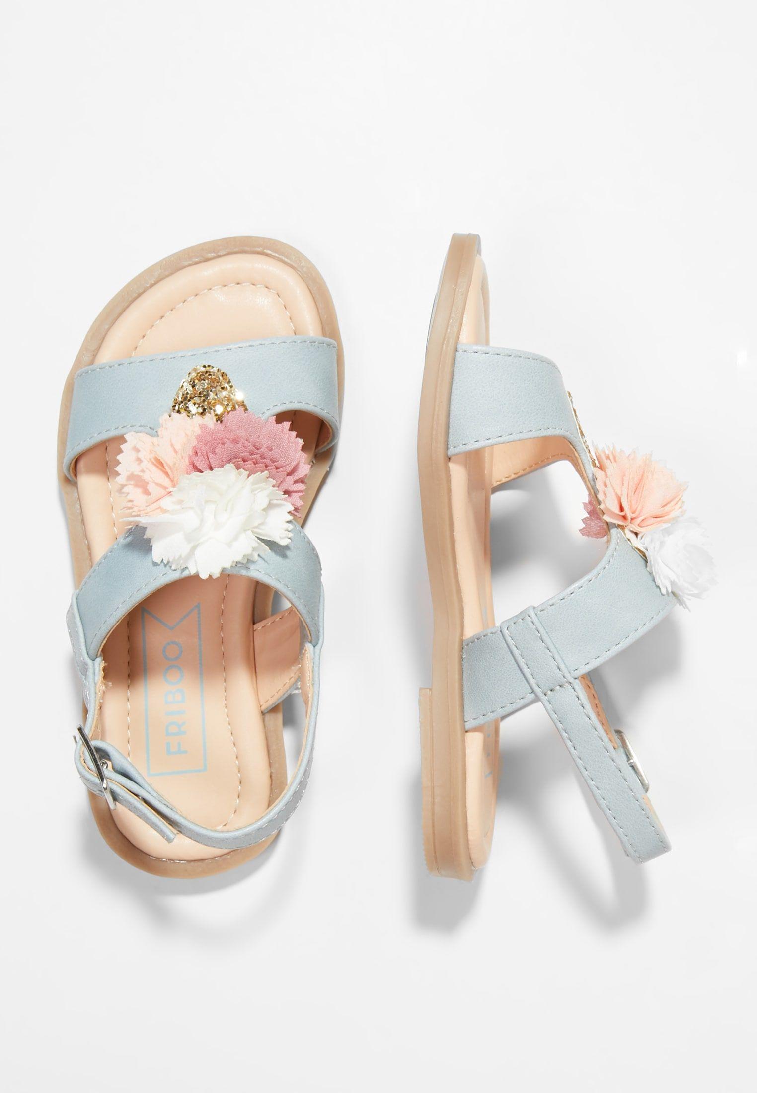 Riemensandalette Light Blue Zalando De Kinder Schuhe Schuhe Fur Madchen Kleinkind Schuhe