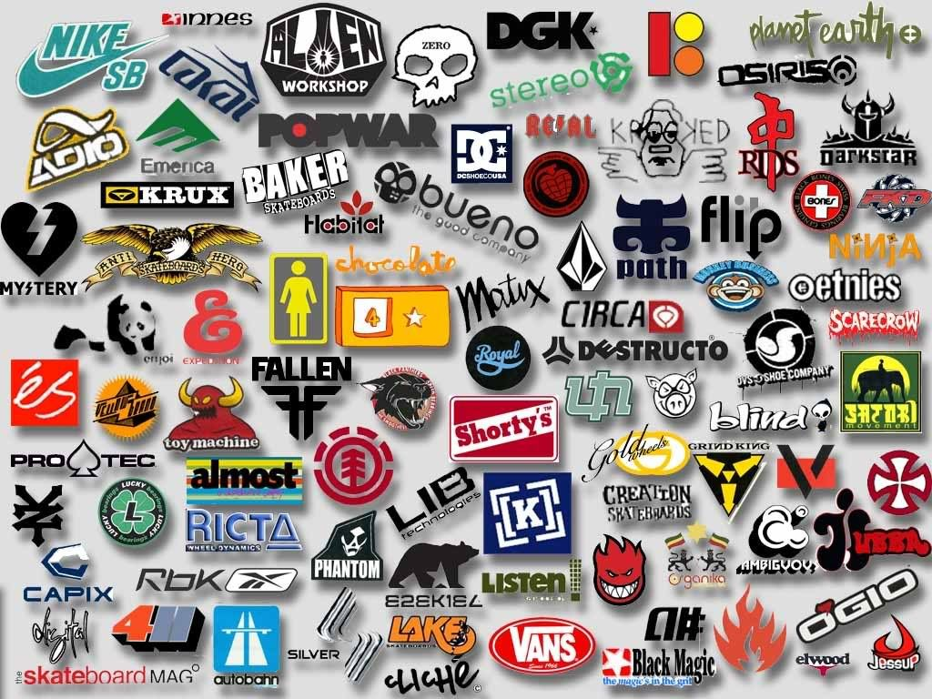 Collections Skateboard Logo Brands Wallpaper