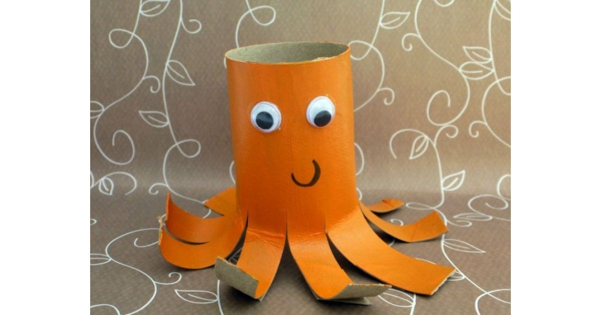 Don T Bin Those Old Toilet Rolls Junk Modelling Sea Creatures Crafts Sea Animal Crafts