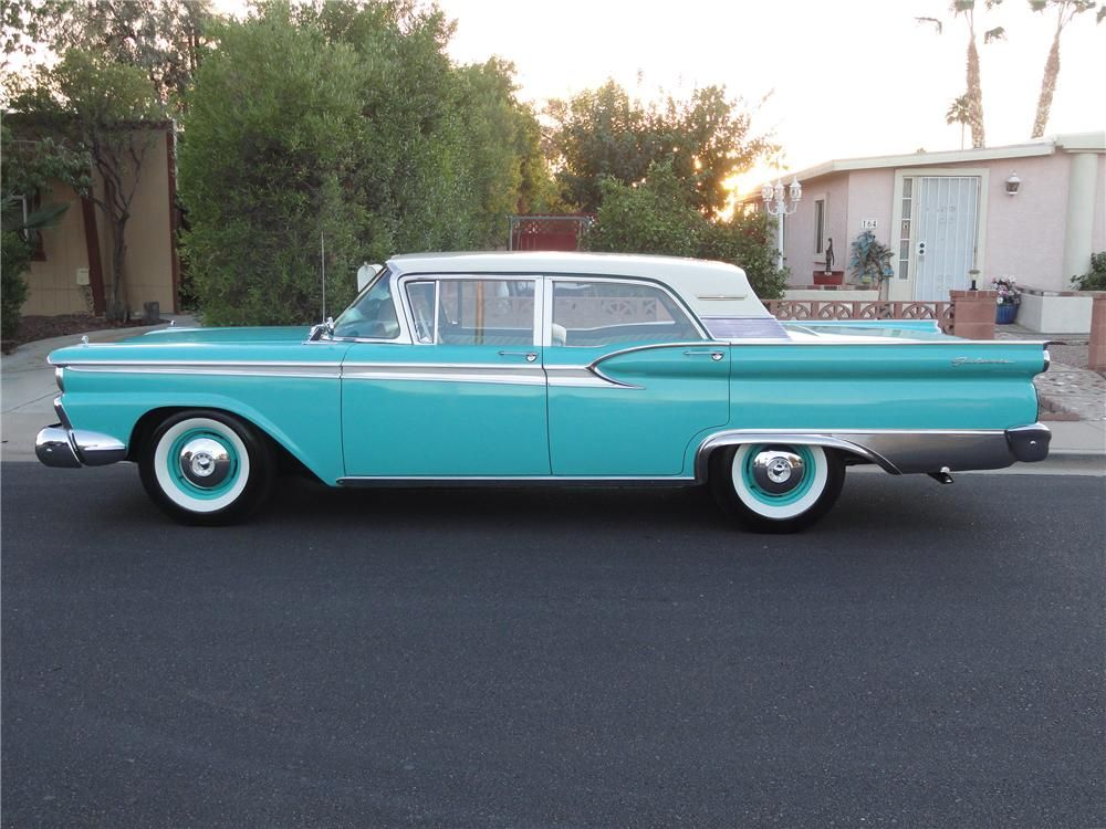 Phil Fitts Ford >> 1959 Ford Galaxie 500 Town Sedan Maintenance/restoration of old/vintage vehicles: the m…   http ...