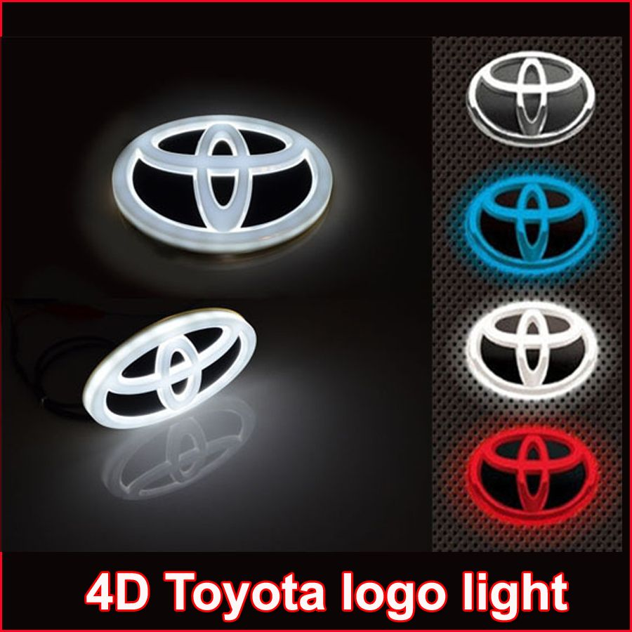 New car 4d led emblem badge sticker lamp for toyota rav4 reiz prado new car 4d led emblem badge sticker lamp for toyota rav4 reiz prado corolla crown yaris fandeluxe Gallery