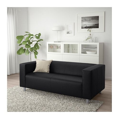Klippan Loveseat Bomstad Black Ikea Ikea Furniture Sofa