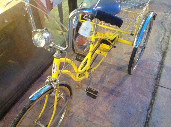 1c091c6b87d Vintage Schwinn Town & Country Trike by ThriftandFish on Etsy, $350.00